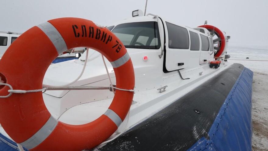 До Нового года по маршруту Самара – Рождествено начнут курсировать новые суда на воздушных подушках