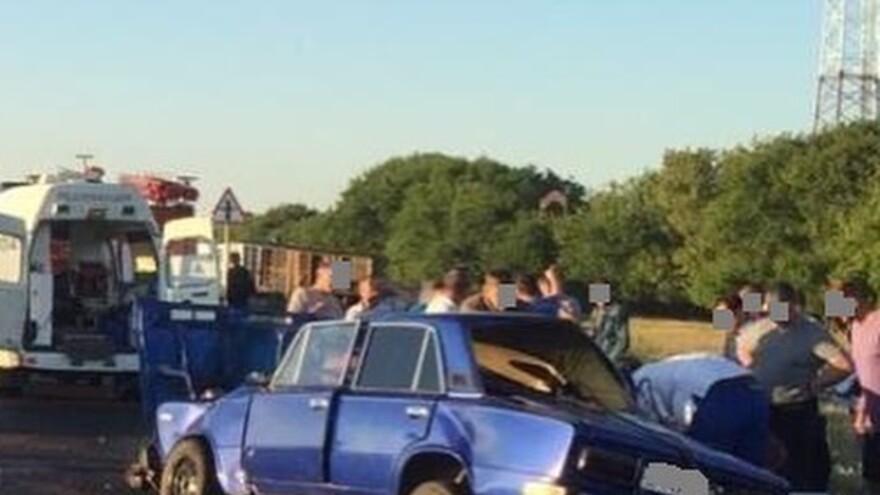 Тяжелая авария на трассе под Тольятти - трое пострадавших