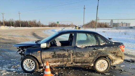В Самарской области в ДТП с автоледи пострадали 4 человека