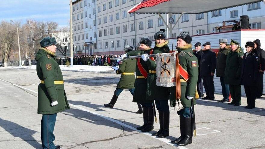 Миротворческой бригаде ЦВО из Рощинского присвоено почетное наименование