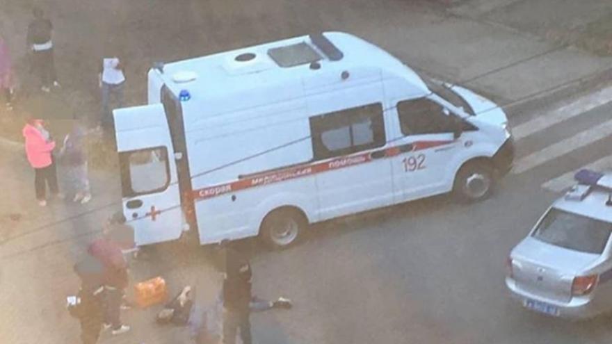В Самаре сбили мужчину на электросамокате
