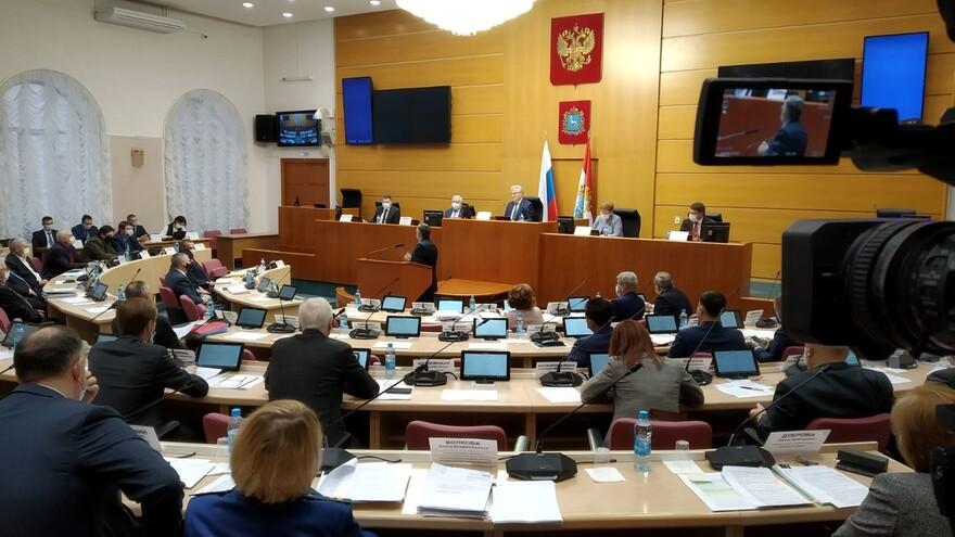 Бюджет Самарской области на 2021 год принят в первом чтении