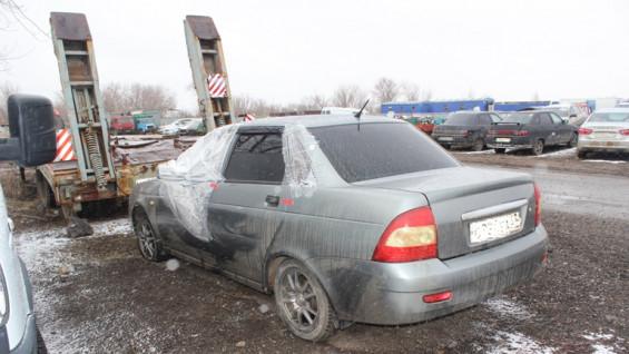 В Самарской области автомобиль украли с помощью эвакуатора