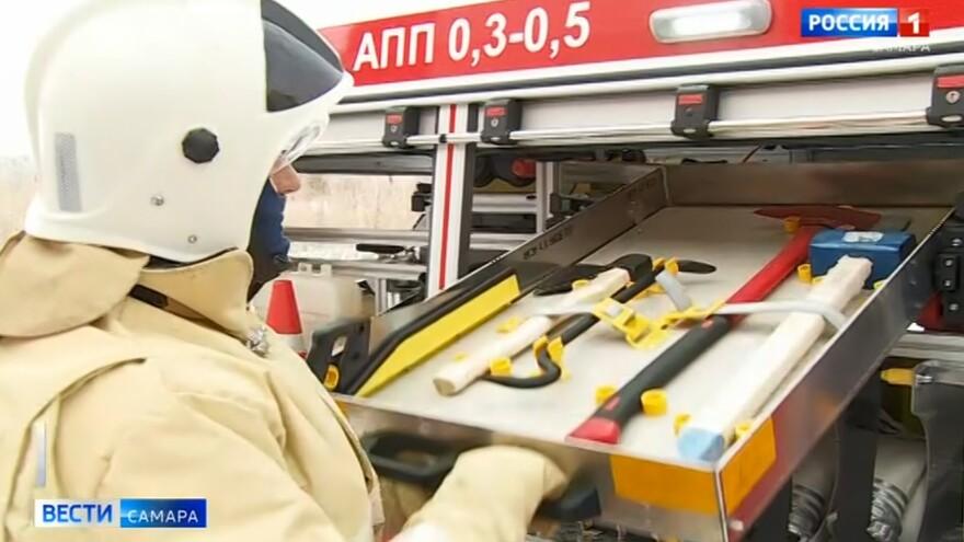 В подразделения противопожарной службы Самарской области продолжает поступать новая спецтехника