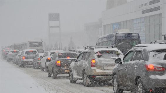 Синоптики прогнозируют снег в Самарской области