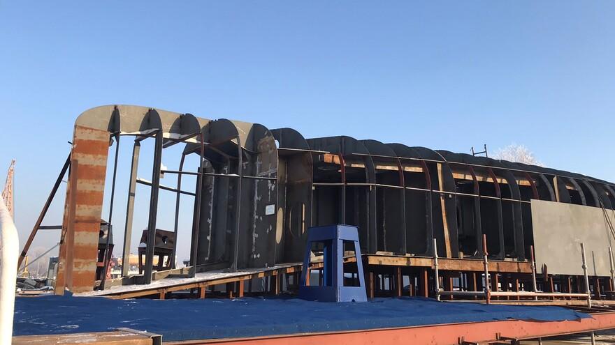 В Самаре начали строить морские пассажирские суда