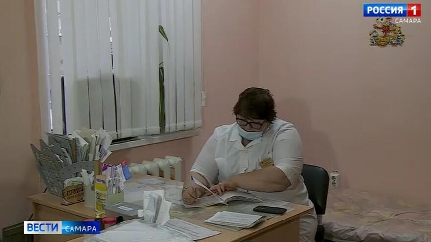 Детское отделение Самарской поликлиники № 14 заметно преобразилось