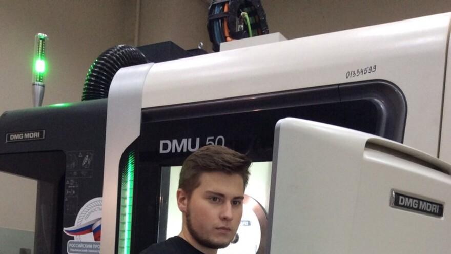 Самарец готовится к участию в World Skills - 2019