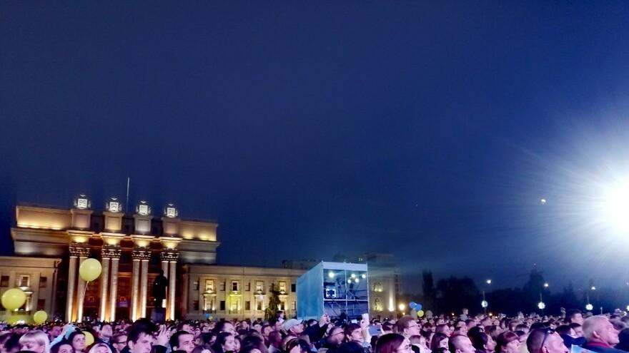 В Самаре День города отпраздновали 55 тысяч человек