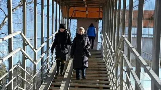 На Московском шоссе построят новый надземный пешеходный переход