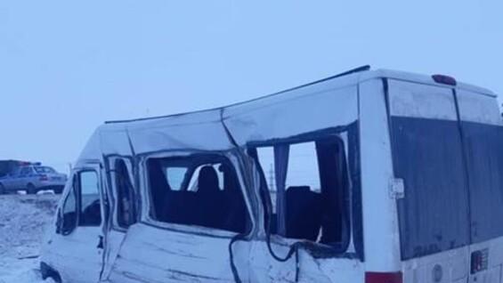 Стали известны подробности страшной аварии с грузовиком и маршруткой в Самарской области