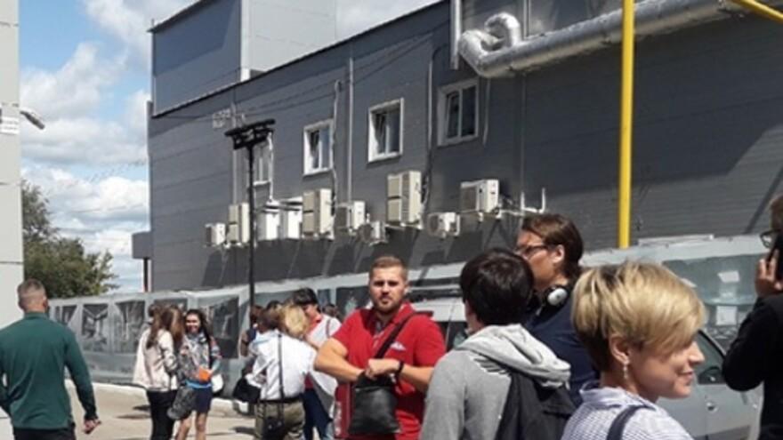 В Самаре эвакуировали бизнес-центр