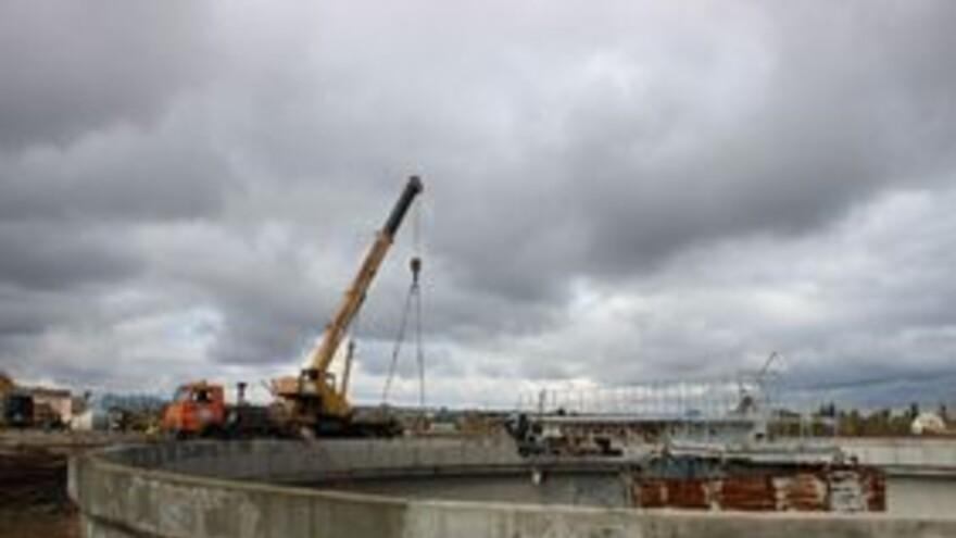 В Сызрани ведется реконструкция очистных сооружений
