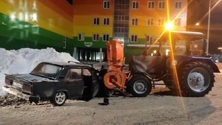 В Самарской области два парня попали под встречный трактор