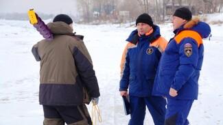 Спасатели рассказали, где в Самарской области опасно выходить на лед