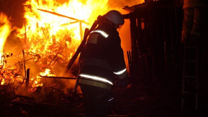 В Шигонском районе сгорели сараи