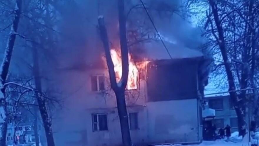 В Самаре на улице Металлистов сгорела квартира