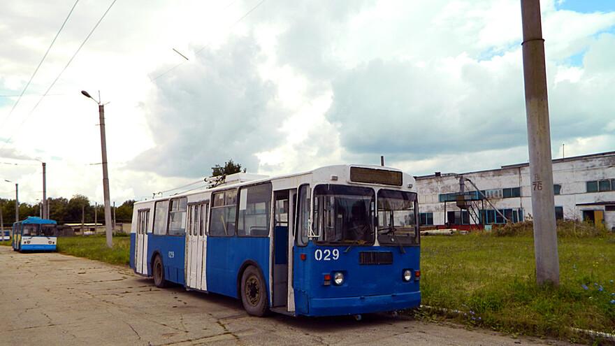 В Новокуйбышевске сломались новые троллейбусы