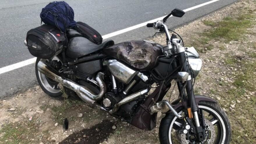 В Красноярском районе в аварии погиб мотоциклист