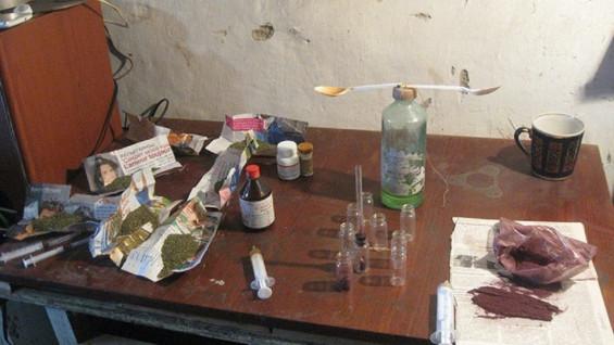В Нефтегорске полиция закрыла наркопритон