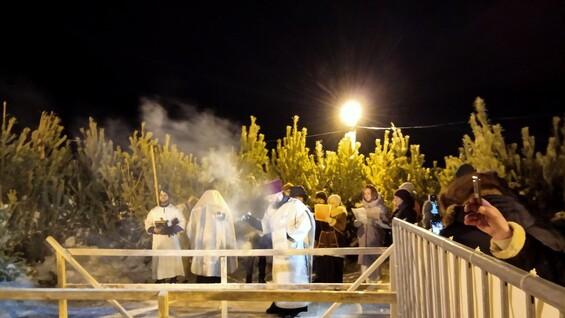 В Самаре начались крещенские купания
