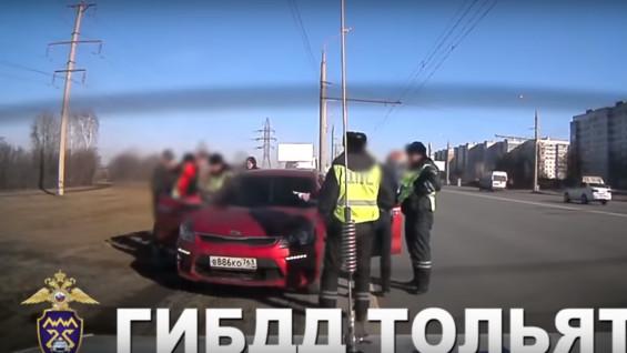 В Тольятти полицейские догналипьяноговодителя: ВИДЕО