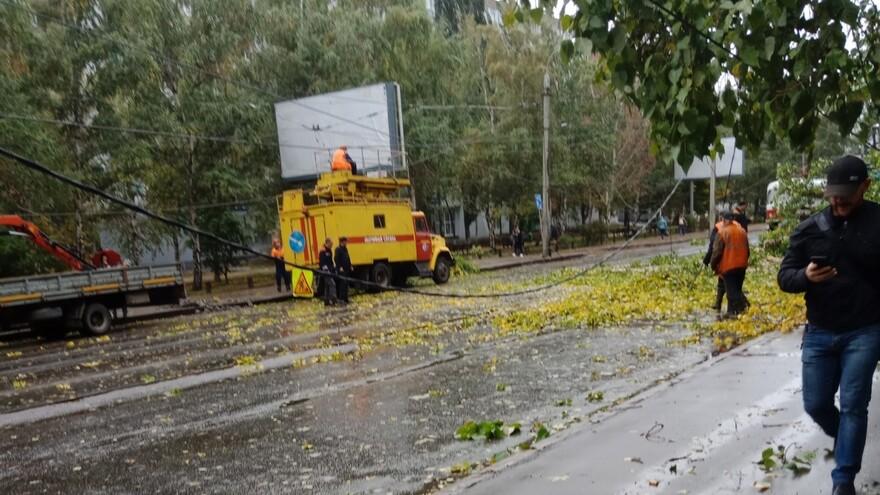 В Самаре восстановлено движение троллейбусов и трамваев