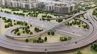 Как строят развязку на Грозненской у Фрунзенского моста в Самаре
