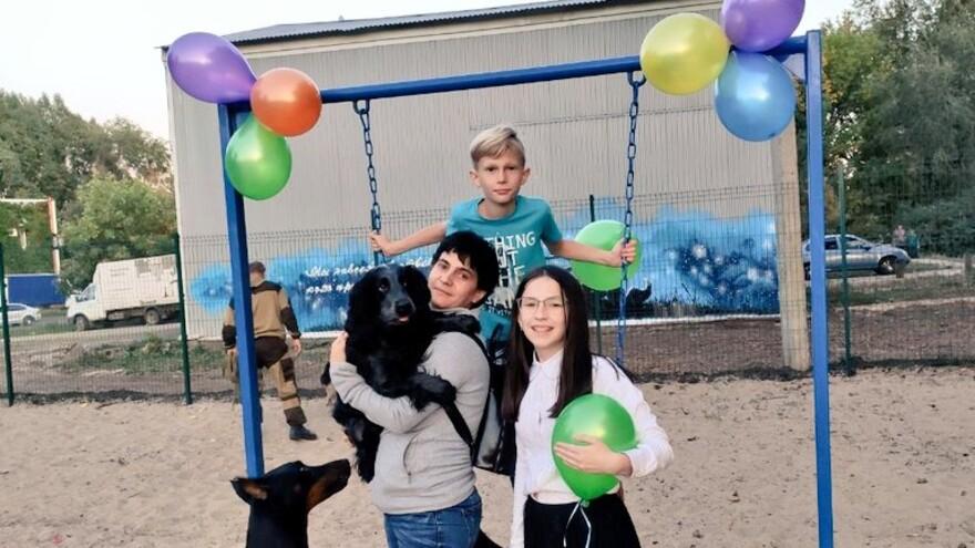 В Самаре построили новую площадку для выгула собак