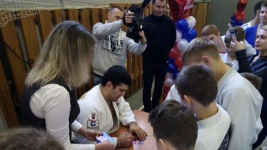 Самарскую область посетил Тагир Хайбулаев