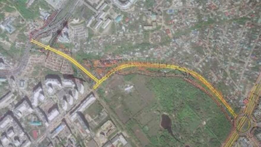 В Самаре на Московском шоссе построят еще одну транспортную развязку