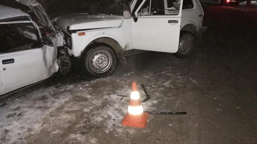 В Самарской области водитель без прав устроил ДТП