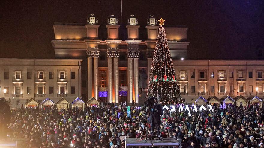 Только в новогоднюю ночь на территории Самарской области пройдёт порядка 260 праздничных мероприятий