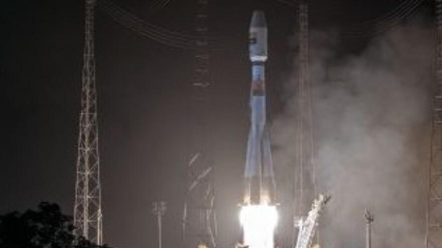 Самарская ракета стартовала из Гвианы