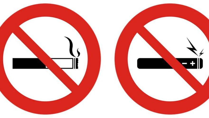 В Самарской области могут запретить курение электронных сигарет на улицах