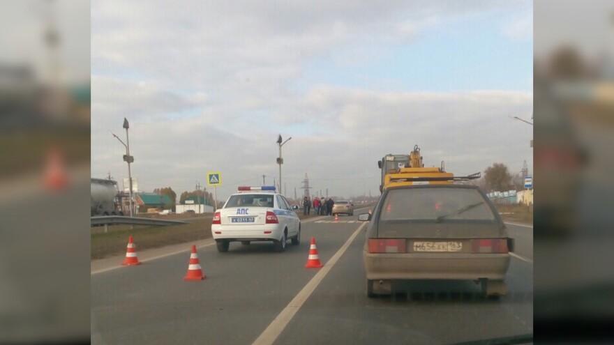В Самарской области насмерть сбили женщину на пешеходном переходе