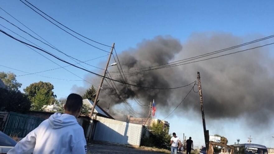 Пострадавших от пожара в частном секторе Самары поселят в школе