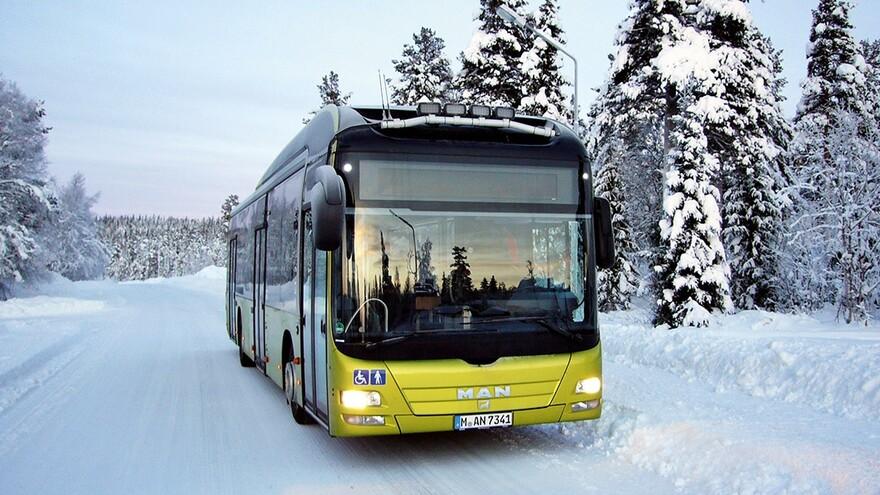 Из Южного города в Самару начал ходить электробус