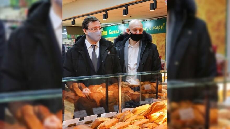 Дмитрий Азаров проверил цены на продукты в магазинах Тольятти