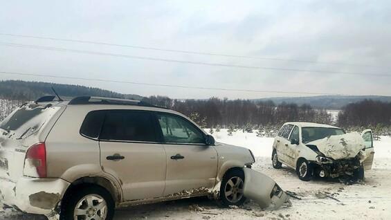 В ДТП под Сызранью погиб водитель