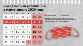 С 30 марта в Самарской области началась нерабочая неделя