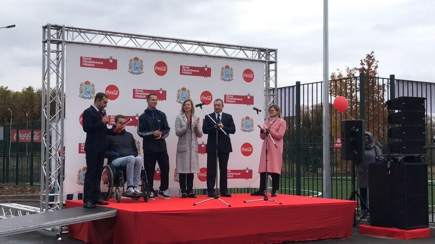 В Самаре открыли детский инклюзивный парк