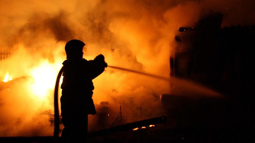 В Самарской области сгорел частный дом