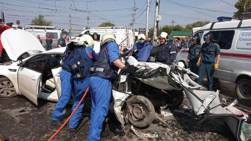 По факту ДТП на Кряжу возбуждено уголовное дело