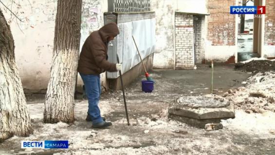 В Самарской области обнаружили 300 неочищенных дворов