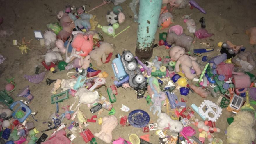 В Сызрани обнаружили кладбище домашних игрушек