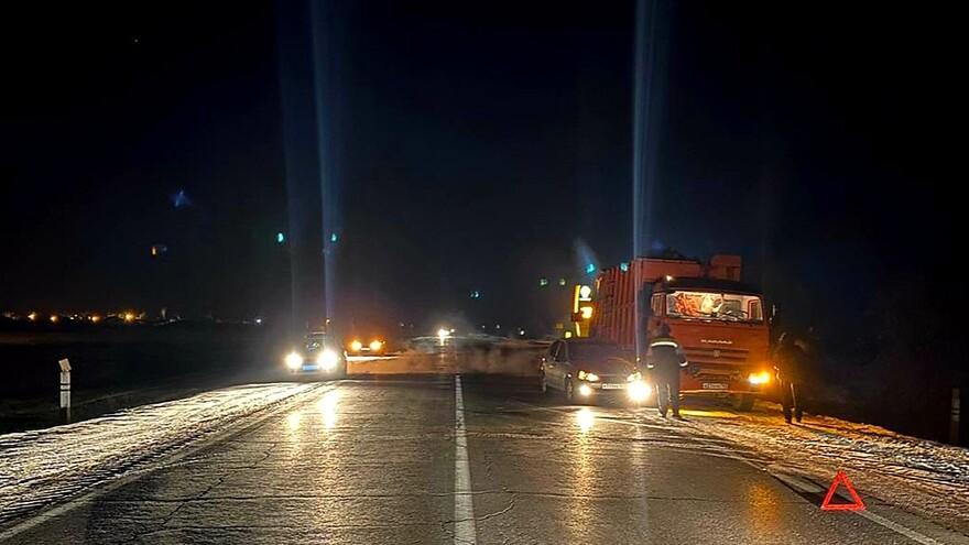 Водитель «КамАЗа» отправил автоледи на больничную койку