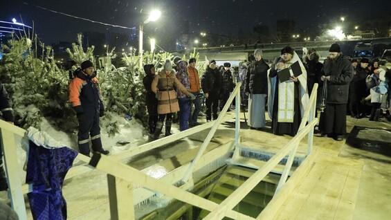 Крещенские купания пройдут в понедельник 18 января