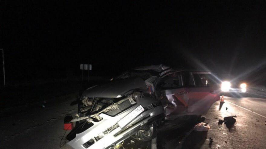 На трассе «Сызрань-Саратов» произошло смертельное ДТП
