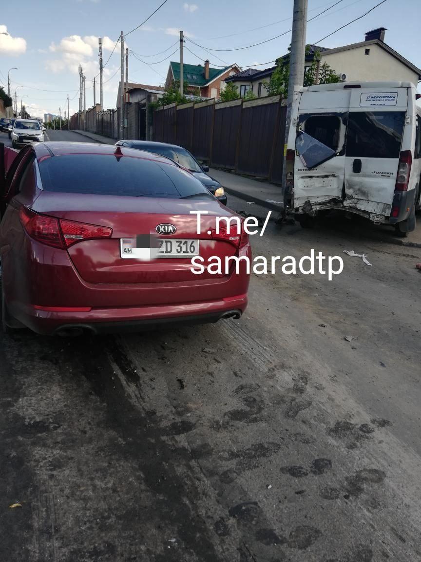 Появились фото и видео с места страшной аварии на 9 Просеке в Самаре
